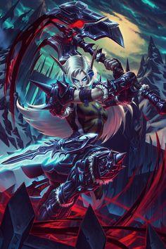 World of Warcraft Art: Photo Fantasy Anime, Dark Fantasy, Final Fantasy, Elves Fantasy, World Of Warcraft Characters, Fantasy Characters, World Of Warcraft Wallpaper, Fantasy Female Warrior, Death Knight