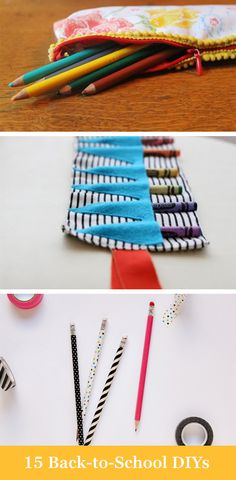 Here are 15 awesome back to school DIYs you have to try with your kids.