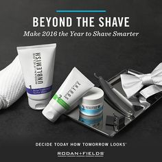 Rodan + Fields is not just for women! Men have skin too - all regimens work just as well on the men in our lives!  Jnuss.myrandf.com