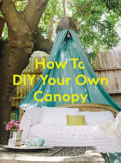 This canopy DIY will transform any room