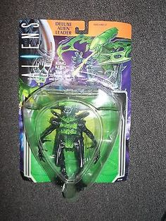 ALIENS Deluxe Alien Leader KING ALIEN action figure Kenner 1994 (sealed) - http://hobbies-toys.goshoppins.com/action-figures/aliens-deluxe-alien-leader-king-alien-action-figure-kenner-1994-sealed/