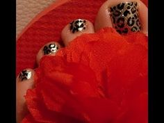 ▶ Uñas decoradas de pies - YouTube