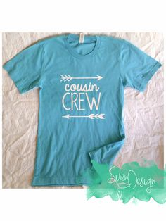 a3e51dee794f Youth Cousin Crew Shirt - Cousin squad - Family Reunion Shirts - Cousins -  Unisex Shirts - Family
