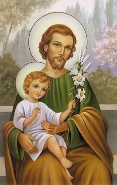 Oh humble and Most Chaste heart of Saint Joseph, plea for us before Christ, for all eternity! Catholic Art, Catholic Saints, Religious Art, Jesus Mary And Joseph, St Joseph, Catholic Wallpaper, Saint Antony, Holy Art, Vintage Holy Cards