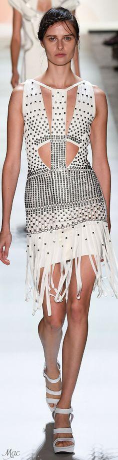 Spring 2016 Ready-to-Wear Hervé Léger by Max Azria