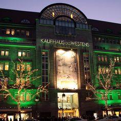 The world's largest department store. KaDeWe. Berlin, Germany