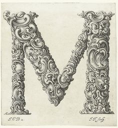 TYPE / An Alphabet of Organic Type (ca.1650)