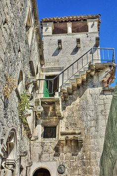 Marco Polo's House, Korcula, Croatia - Explore the World with Travel Nerd Nici, one Country at a Time. http://TravelNerdNici.com