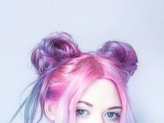 Unlock the Professional's Secret to Beautiful Hair. At-Home Hair Color is Officially Easier Than Ever With Ion At Home. Two Buns Hairstyle, Bun Hairstyles For Long Hair, Trendy Hairstyles, Hair Buns, Ladies Hairstyles, Messy Hair, Hairdos, Hairstyle Ideas, Hair Ideas