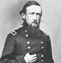 Presidents in uniform: Benjamin Harrison, Brigadier General in the Union Army during the Civil War.