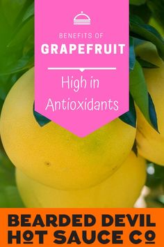 It keeps you hydrated. Grapefruits are 88 percent water (one whole fruit has 216 grams of the stuff!) making them a pretty stellar way to stay hydrated in addition to your regular S'well bottle habit. Spicy Sauce, Hot Sauce, Health Benefits Of Grapefruit, Fruit Sauce, Stay Hydrated, Stuffed Peppers, Reduce Inflammation, Healthy, Bottle