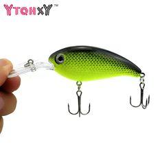 12x Fishing Bait Soft Lure Shrimp 6cm Crankbait Wobbler Bass Carp Trout Jigging