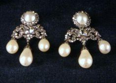 Royal Family of Bavaria jewels Pearl Stud Earrings, Pearl Studs, Sterling Silver Earrings Studs, Women's Earrings, Royal Crown Jewels, Royal Crowns, Fine Jewelry, Antique Jewellery, Vintage Jewelry