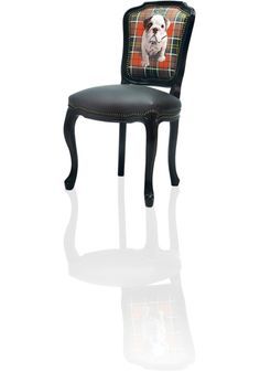Baroque Chair With Photographic Back