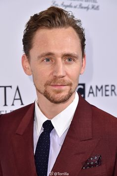 Tom Hiddleston. #BAFTATea Via Torrilla.