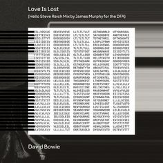 James Murphy worked his magic on Bowie's 'Love is Lost'