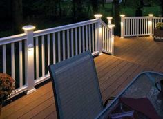 New deck lighting ideas pinterest exclusive on miral iva home decor