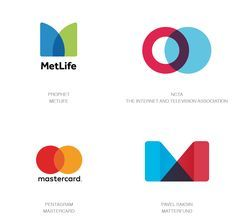 Logo Design Trends 2017 - Simple Overlays