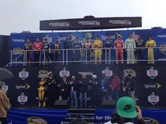 """The """"13""""  drivers!! GO KASEY & JEFF!!!"""