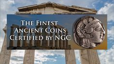 Greek Coinage is a fascinating area of the ancient coins market, dating back to around 500 B. Austin Rare Coins is one of the premier ancient coin dealers . Coin Dealers, Coin Market, Gold And Silver Coins, Coin Grading, Rare Coins, Greek, Old Things, United States, Stock Photos