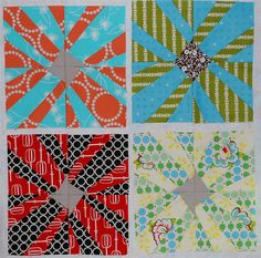 Quilt block -- looks like a fun one!