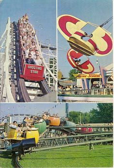 Coney Island, Cincinnati, Ohio - this was the precursor to Kings Island.  I got to go with my older friend and Idol, Brenna Jones and her parents, Helen and RC, who I loved dearly.  I was 6.  I was so thrilled because we got to spend the night in a hotel room and swim in the swimming pool. RW