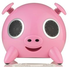 Cute Speaker for your iPod or iPhone. Follow AnnabelRodz for more pins!