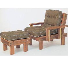 Outdoor furniture woodworking plan