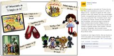 """Seis produtos da Elo7 relacionados com a obra """"O Mágico de Oz"""", foram publicados no Facebook do site Osasco Fashion."""