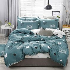 Home Textile Simple Bedding Duvet Cover Pillowcase Sets - King, Flat-bed-shee. - Home Textile Simple Bedding Duvet Cover Pillowcase Sets – King, Flat-bed-sheet – Home Texti - Twin Bed Linen, Bed Linen Sets, Linen Duvet, Girls Bedding Sets, Duvet Bedding Sets, Girl Bedding, King Comforter, Bed Cover Sets, Bed Sets