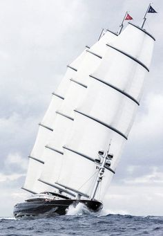 Maltese Falcon Sailing Yacht at sea - Seatech Marine Products & Daily Watermakers