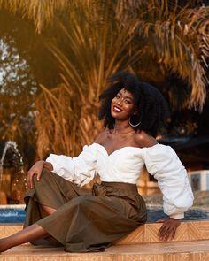 Efik Zara is Basically THE Ultimate Travel Style Inspiration African Girl, African Beauty, African Fashion, Brown Skin Girls, Brown Girl, Black Girl Magic, Black Girls, Brown Hair Male, Dewy Makeup Look