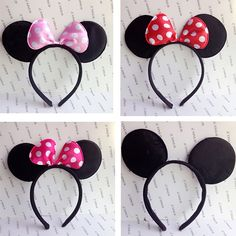 Cheap headwear wholesalers, Buy Quality accessories harley directly from China accessories ford Suppliers: Minnie mouse Party Children Accessories Mickey Mouse ear Baby Hair Accessories Red Pink Bow Girls Headband kid Mickey Mouse Birthday Decorations, Mickey Mouse Birthday Invitations, Mickey Mouse Ears Headband, Mickey Minnie Mouse, Baby Hair Accessories, Party Accessories, Cheap Accessories, Boy Headbands, Children