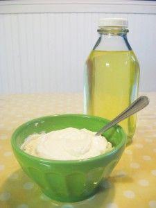 Homeade Greek yogurt! Yum! If you think yogurts good, you've never had GREEK! :)