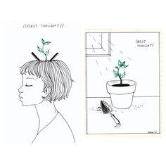 Cuidar y dejar crecer nuestras ideas, casi más importante que tenerlas. ¿De qué sirve lo que no nos cambia? thelosconsulta.com