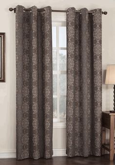 Henna Thermal Lined Grommet Curtain - Chocolate - S.Lichtenberg - View All Curtains