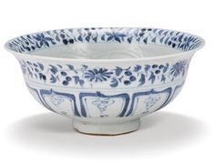 bowl | sotheby's I PROPERTY FROM A PRIVATE ASIAN COLLECTION A BLUE AND WHITE 'MANDARIN DUCK' BOWL YUAN DYNASTY Estimate 30,000 — 40,000 HKD