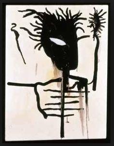 Jean-Michel Basquiat, Self portrait on ArtStack #jean-michel-basquiat #art