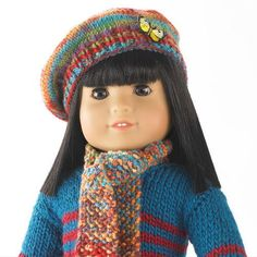 The Darling Knit Doll Scarf and Beret will make any doll look extra cute and extra special. No one can resist such an adorable free knitting pattern featuring fine weight yarn in an eye-catching color scheme. The tiny knit scarf and beret will bring a smile to your child's face and his or her doll will look so precious and sophisticated. Plus, with the holidays right around the corner, one can't help but notice what a great gift this knit duo would make. Sure, doll clothes you can buy at a…