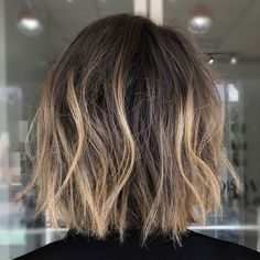 High-Contrast Babylights + Textured Bob