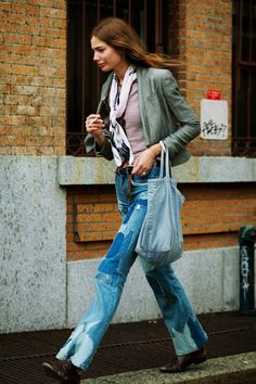 oh those fab old Levi's.  I just think this look is tops!