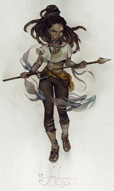 huntress by loish.deviantart.com on @DeviantArt