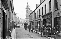 Cross Street, Larne, Co. Old Photographs, Old Photos, Belfast, Street View, History, Irish, Old Pictures, Historia, Irish Language