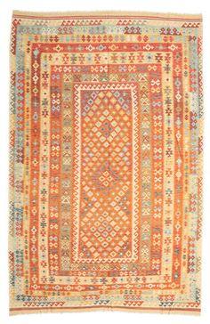 Kelim Afghan Old style matta 248x384
