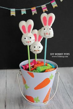 DIY Bunny Pops Tutorail