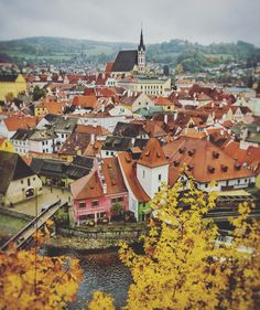 Day trips from Prague, Cesky Krumlov in the fall