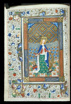 Catherine  Book of Hours, Use of Sarum, and Psalter