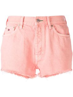 TOMMY JEANS HIGH-WAISTED SHORTS. #tommyjeans #cloth #shorts