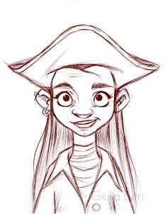 Little strange pirate