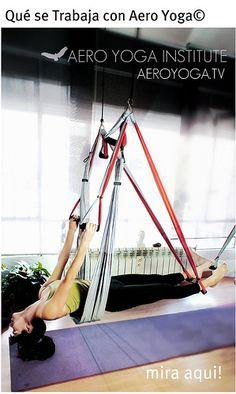 Yoga Aereo (AeroYoga® AeroPilates® AerialFirness®) en Trapecio Cursos Internacionales! Formación Profesores Yoga Aéreo con AeroYoga International -Diploma Homologado Internacionalmente con Rafael Martinez- Creador Método AeroYoga TM - Únicos Cursos Avalados por la IAA International AeroYoga Association- Clic en la imagen para + Info Fechas Cursos Oficiales e inscripciones - Aerial Yoga aerial yoga Teacher training www.aerialyoga.tv Gimnasia Aérea (Aero Yoga©): Primer Centro AeroYoga. España…